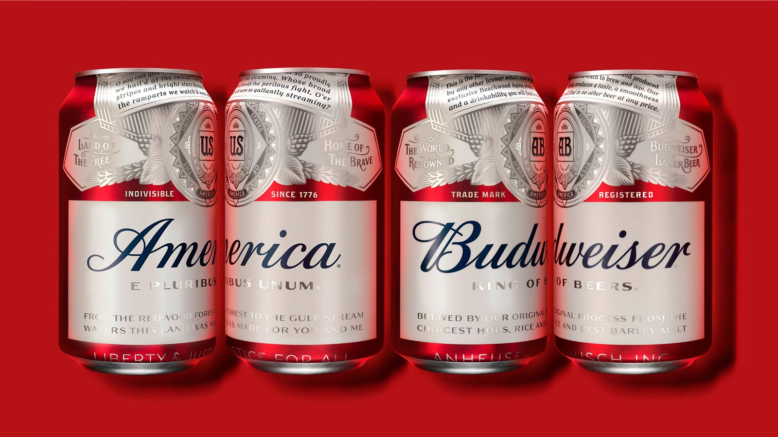 Budweiser America 4 cans, A Curate's Egg