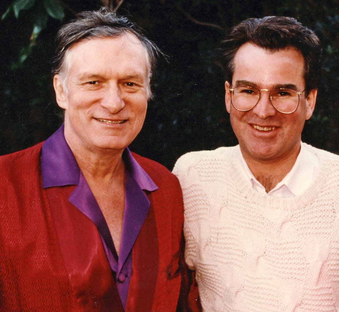 Larry Logan and Hugh Hefner, A Curate's Egg