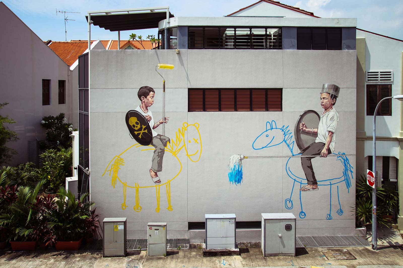 Ernest Zacharevic, A Curate's Egg