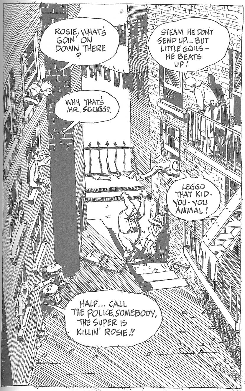 Will Eisner, A Curate's Egg