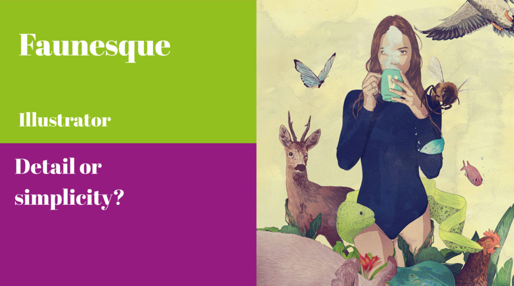 Faunesque, Illustrator, A Curate's Egg