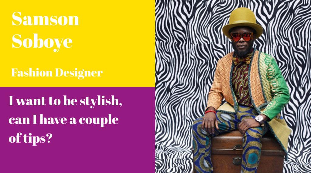 Samson Soboye, Fashion Designer, A Curate's Egg