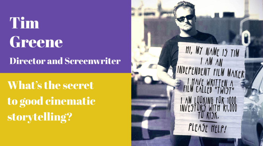 Tim Greene, Director and Screenwriter, A Curate's Egg